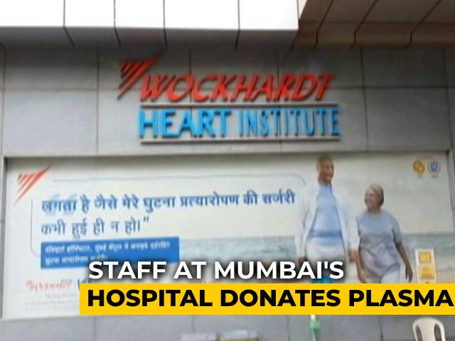 Video : From Caregivers To Plasma Donors: Mumbai Hospital Staff's COVID Fight