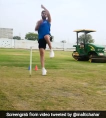 Watch: Chahar Runs In To Bowl To His Sister With A Twist At The End
