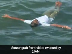 International Yoga Day 2020: People Perform Aqua Yoga In Tamil Nadu's Palk Strait