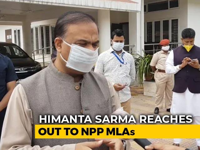 Video : BJP Sends Himanta Biswa Sarma, Conrad Sangma To Put Out Fires In Manipur