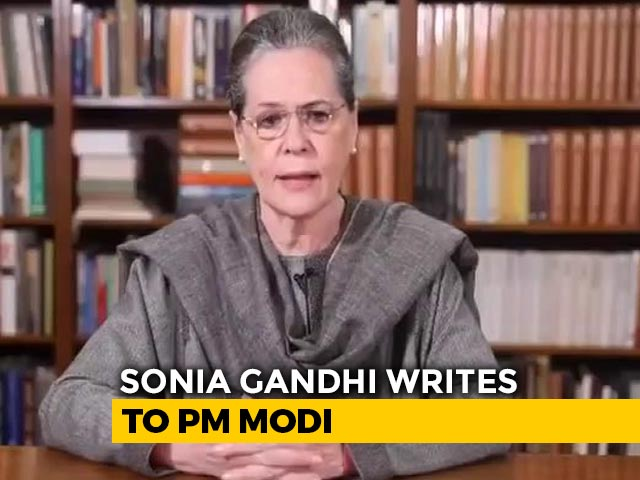 """Video : """"Profiteering Off Its People"""": Sonia Gandhi's Letter To PM On Fuel Prices"""