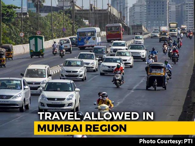 Video : Maharashtra Allows Inter-District Movement In Mumbai Metropolitan Region