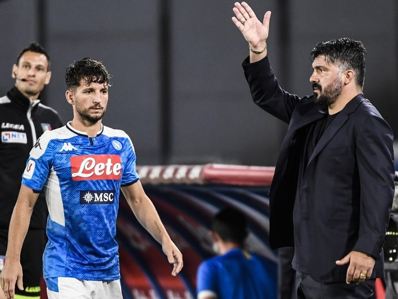 Record-Breaking Dries Mertens Sends Napoli To Italian Cup Final