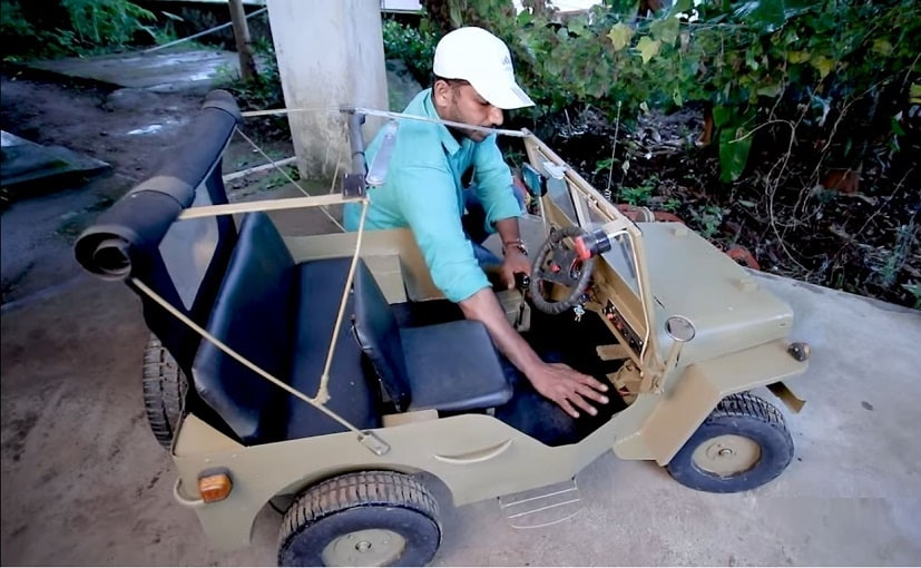 This Fully Functional Jeep Willys Miniature Toy Was Built In Just 7 Months