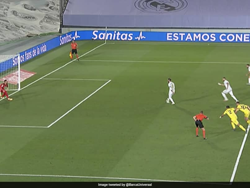 Watch: Sergio Ramos-Karim Benzema Cheeky Penalty Attempt Ends In Epic Fail