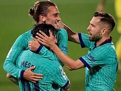 La Liga: Antoine Griezmann Stars Against Villarreal As Barcelona Keep Title Hopes Alive