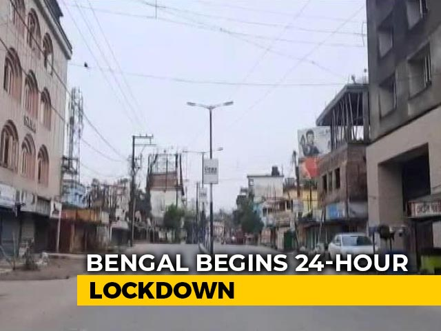 Video : Bengal Begins 2 Days A Week Lockdown, Towns Shut Till July 31