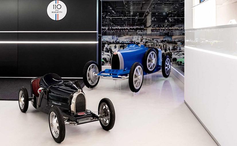 The Bugatti Baby 2 is a 75 per cent scale replica of the iconic Type 35.