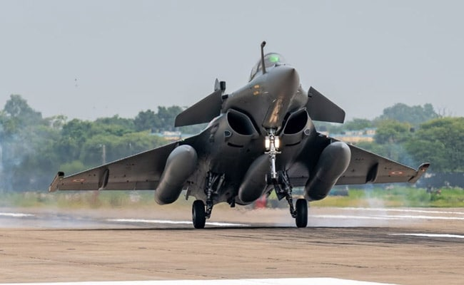 The first five Rafale fighter jets will be inducted into No 17 Squadron known as 'Golden Arrows'
