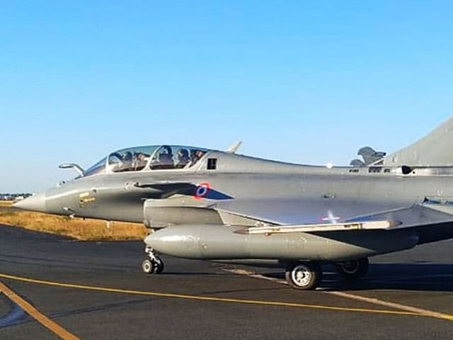"""Video : """"Welcome To Indian Ocean"""": Audio Of Navy Warship's Chat With Rafales"""