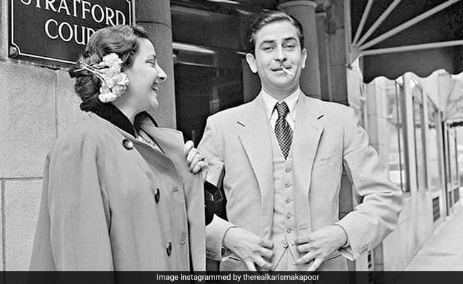 Karisma Kapoor Shares A Rare Pic Of Her 'Handsome Dadaji' Raj Kapoor