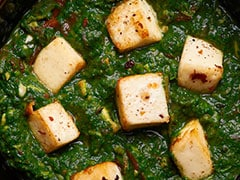 How To Make Unique Restaurant-Special <i>Lahsooni Palak Paneer</i> (Recipe Video Inside)
