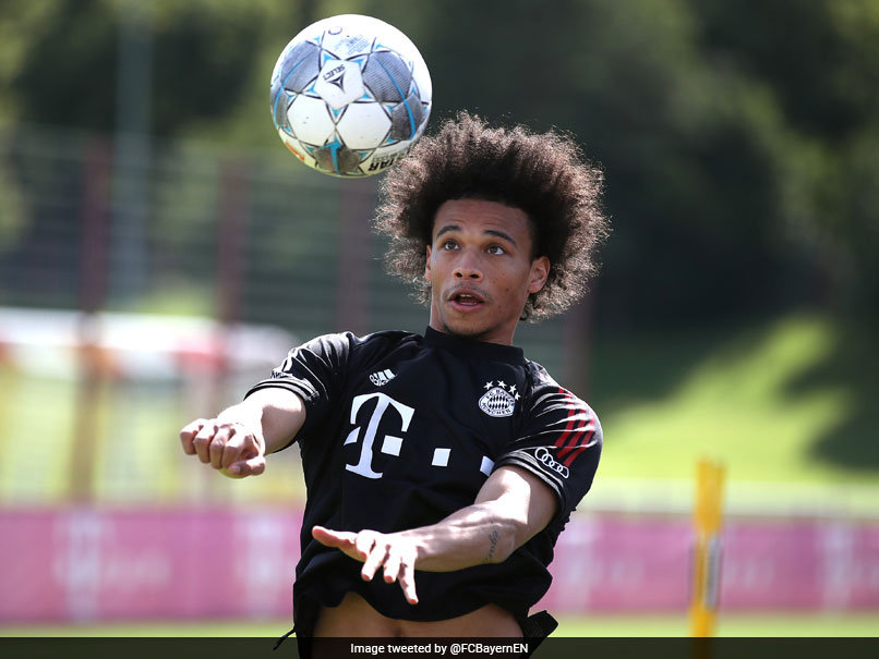 Leroy Sane Reports Early For First Bayern Munich Training Session | Football News