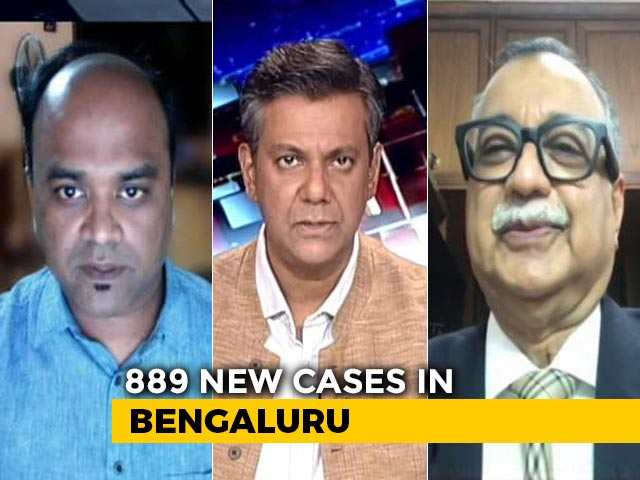 Video : Bengaluru Battles Surge in COVID-19 Cases