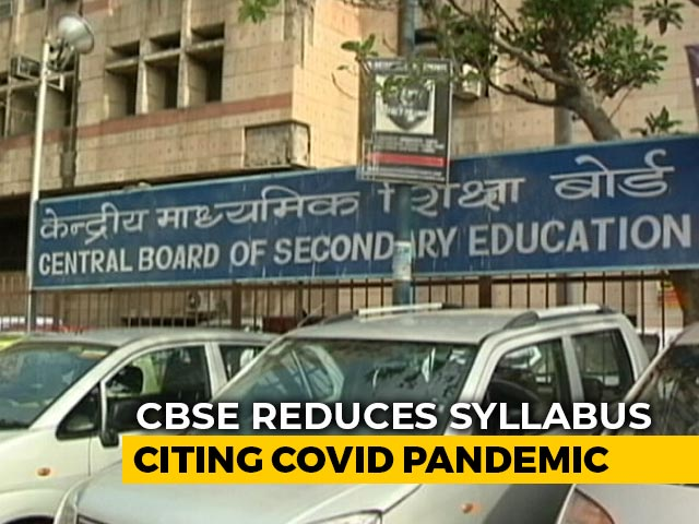 Video: Federalism, Secularism Among Chapters Dropped from CBSE School Courses