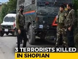 Video : 6 Terrorists Shot Dead In 24 Hours In Jammu And Kashmir