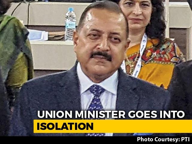 Video : Union Minister, Ram Madhav Self-Isolate, Say Met COVID +ve J&K BJP Chief