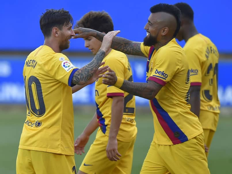 La Liga: Lionel Messi Scores Twice As Barcelona Finish With Five-Goal Rout Over Alaves