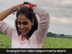 जेनेलिया डिसूजा खेतों के बीच मजे से कर रही थीं सैर, Video शेयर कर रितेश देशमुख का यूं आया कमेंट