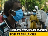 Video : India's COVID-19 Tally Soars To 13,36,861 With 48,916 Fresh Cases
