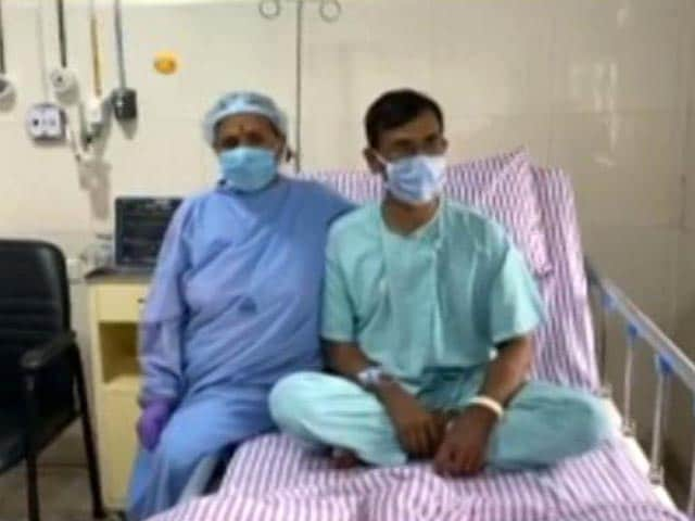 Video : Mother Gives Son Kidney After Spending 10 Days In Covid Hospital Together