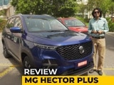 2020 MG Hector Plus Review