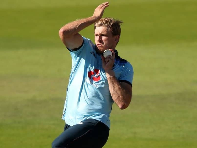 England All-Rounder David Willey, Wife Test Positive For Coronavirus
