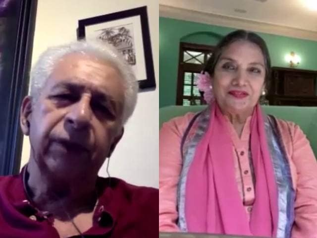 Shabana Azmi, Naseeruddin Shah Pay Tribute To Kaifi Azmi in Mee Raqsam