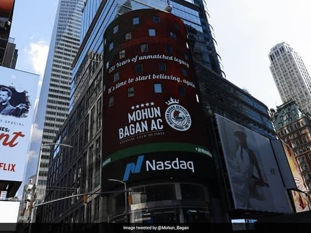On Mohun Bagan Day, NASDAQs Times Square Tribute To Kolkata Club