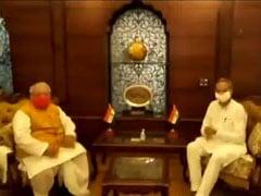 Ashok Gehlot Meets Governor, BJP Ready To Seek Trust Vote