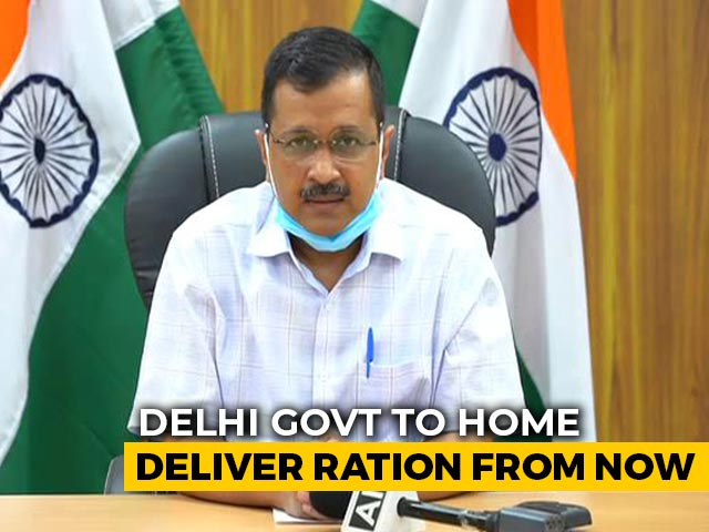 Video : Delhi Cabinet Approves Doorstep Delivery Of Ration
