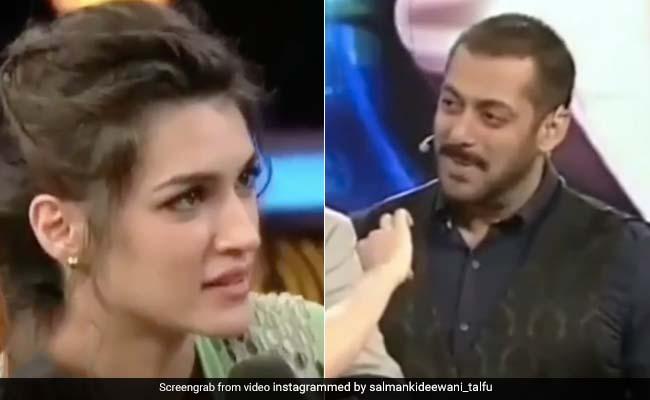कृति सेनन बनीं ऐश्वर्या राय, सलमान खान की आंखों में आंखे डालकर यूं दोराया 'हम दिल दे चुके सनम' का सीन- देखें Video