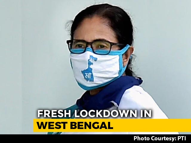 Video : Mamata Banerjee Downplays Impact Of Fresh Lockdowns In Bengal