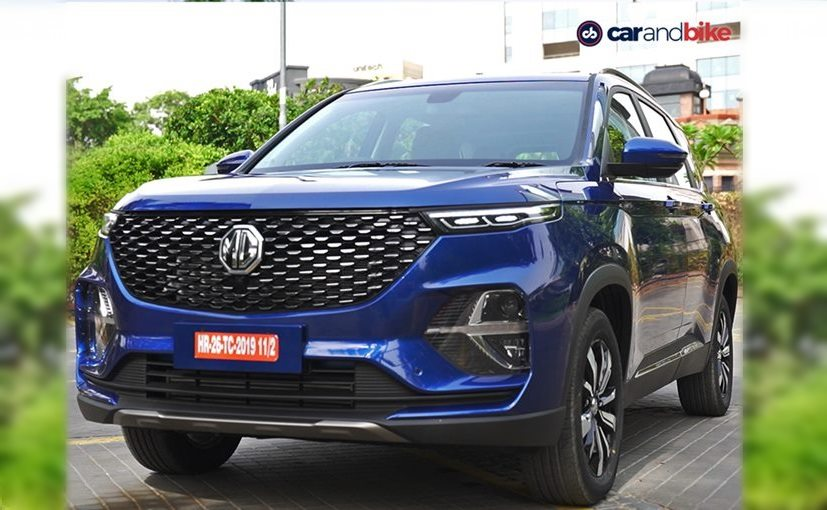 The MG Hector Plus made its debut at the Auto Expo 2020 and will be sold as part of the Hector range