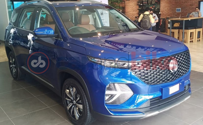MG Hector Plus SUV will be launched in India on July 13, 2020