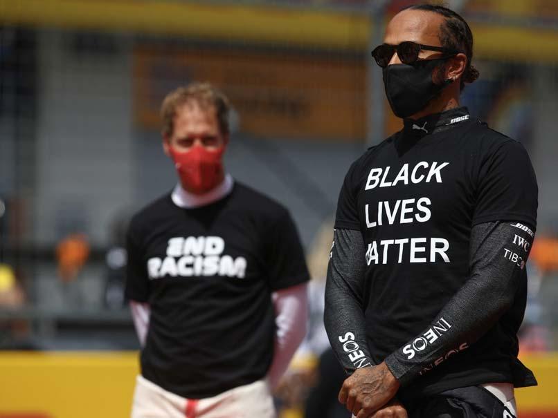 Formula One Bosses Reject Lewis Hamiltons Criticism Of Anti-Racism Effort