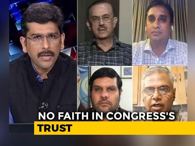 Video : Congress Trusts Probe: Political Vendetta vs Delayed Action