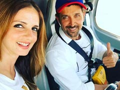 Hrithik Roshan's Shout-Out To Ex-Wife Sussanne Khan For Her Brand's New Venture