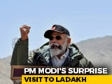 "Video : At Ladakh, PM Modi's Strong Message Against ""Expansionism"""