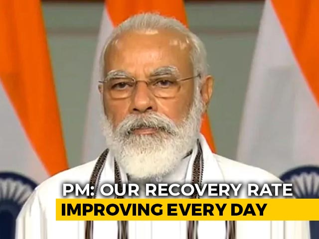 """Video : India """"Better Off Because Of Right Decisions At Right Time"""": PM On Covid"""