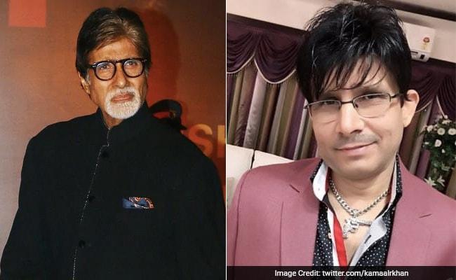 अमिताभ बच्चन से फिल्म निर्माता ने की KRK को अनफॉलो करने की अपील, बोले- इसका मुकाबला करना होगा...