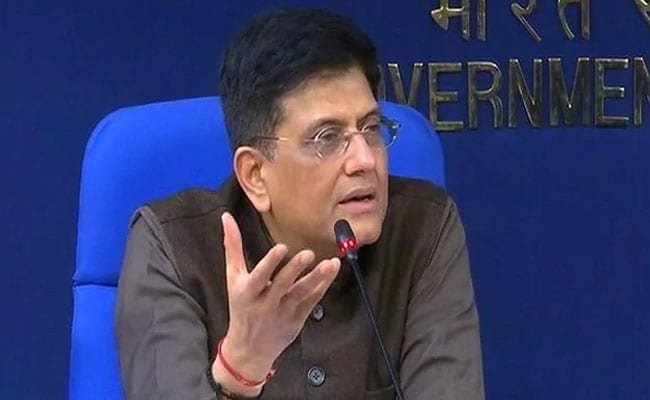 'Directionless' Opposition Only Trying To Mislead Farmers: Piyush Goyal