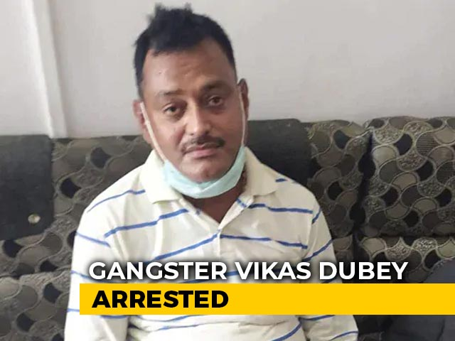 Video : How Gangster Vikas Dubey Was Spotted At Famous Madhya Pradesh Temple