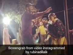 टीवी एक्ट्रेस Rubina Dilaik पहाड़ी लोक-संगीत पर परिवार संग यूं झूमीं, वायरल हुआ Video