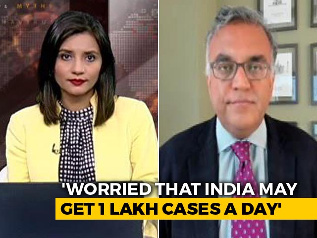 Video : Worried About India Becoming Global COVID-19 Hotspot: Top US Doctor