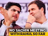 Video : No Rahul Gandhi Meet, Says Sachin Pilot, Congress Appeals - And Berates