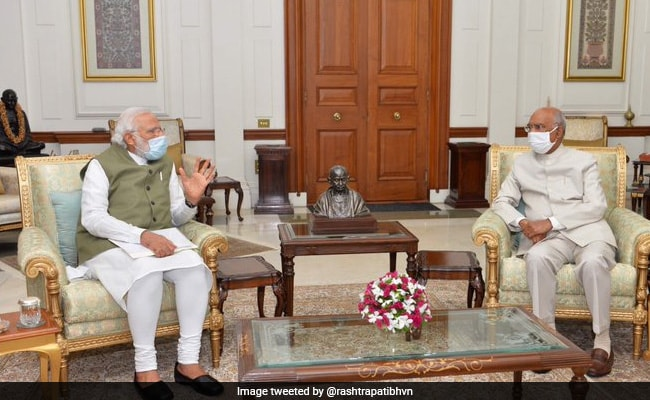 PM Meets President Kovind To Discuss Various Issues: Rashtrapati Bhavan