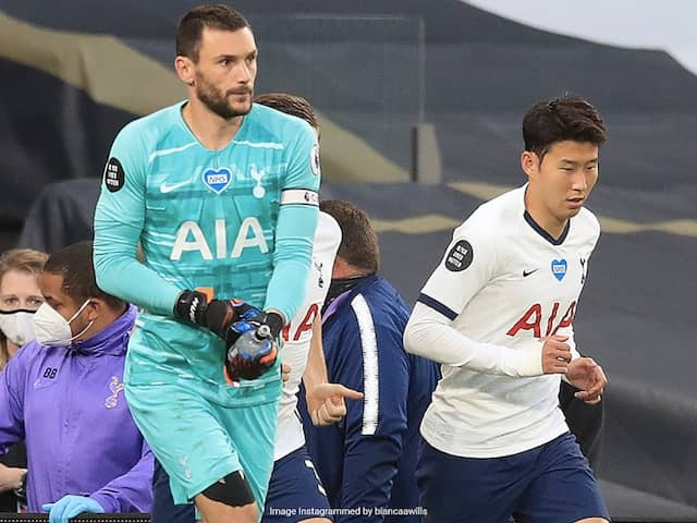 Premier League: Son Heung-min Clashes With Hugo Lloris As Tottenham Beat Everton