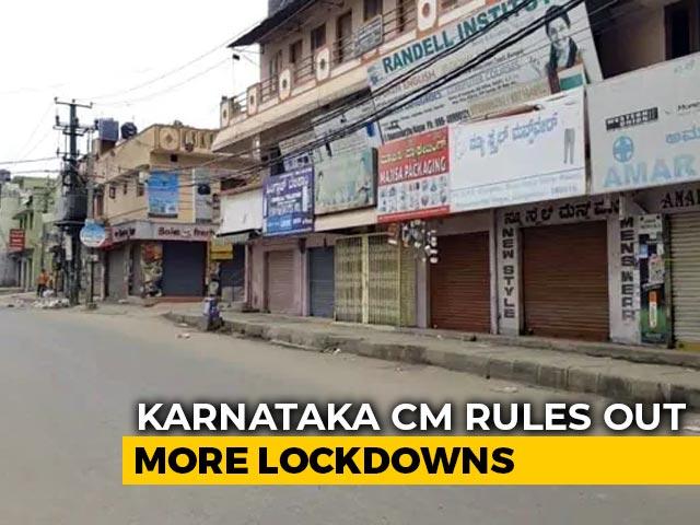 Video : Bengaluru Ends Lockdown, BS Yediyurappa Appeals For Cooperation