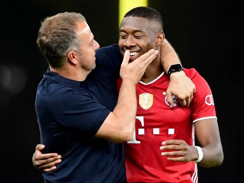 Hansi Flick Determined To Keep David Alaba, Thiago Alcantara At Bayern Munich